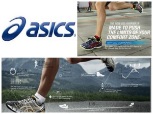 Asics Collage