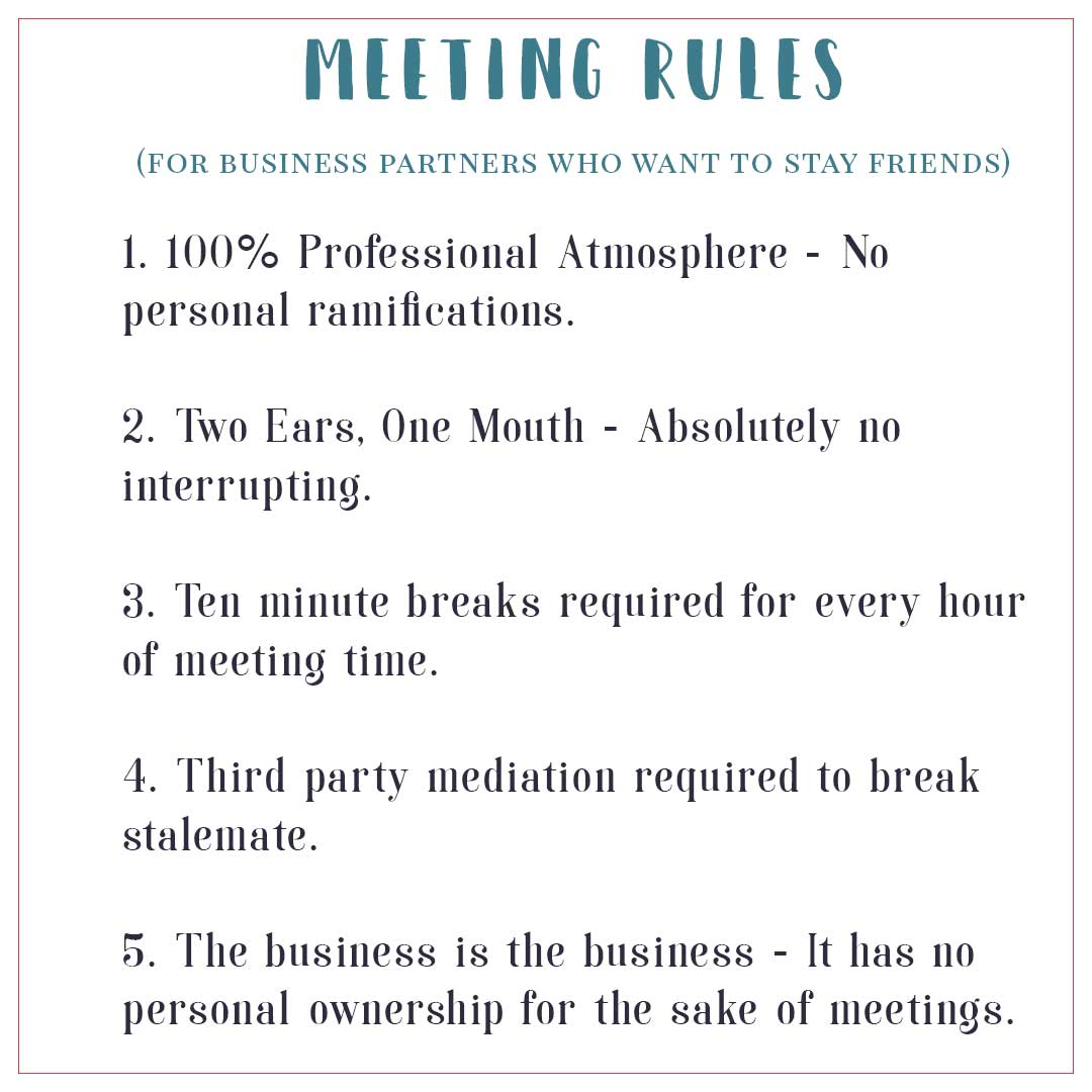 Business-Meeting-Rules